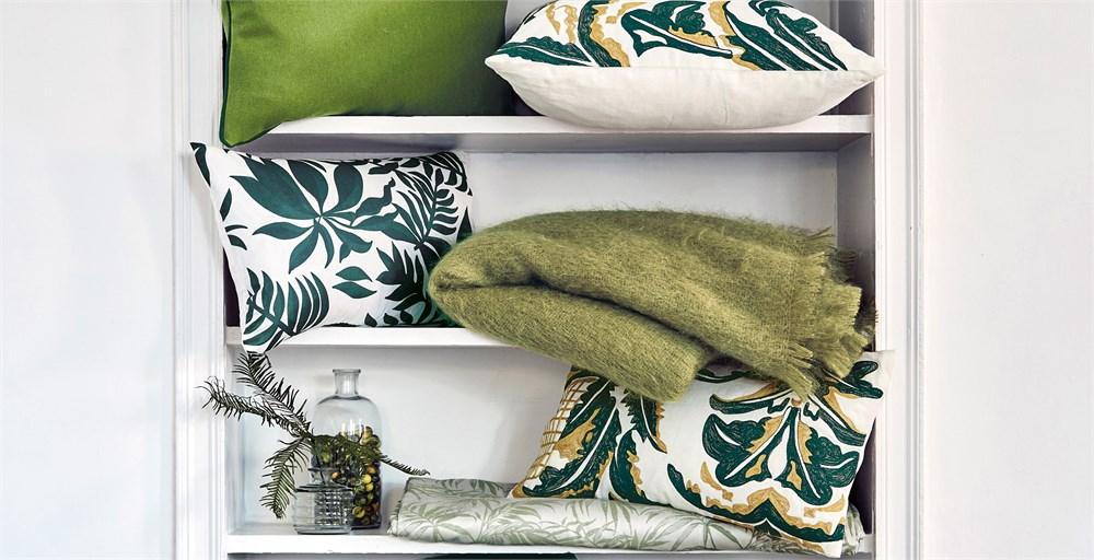 Botanics Silk Printed Cushions
